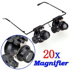Shop or Gift LED Light 20x Magnifier Magnifying Eye Online.