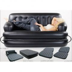 Air Sofa Bed, Sofa Cum Bed With Air Pump(5 In 1 Air Sofa Bed)