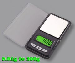Gadget Hero's Digital Pocket Weighing Scale 0.01g To 200g. G, Oz, Tl, Ct