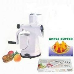 Kitchen Combo - Juicer, Apple Cutter & 6in1 Slicer