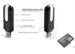 Electronics - Spy Dvr Pen Drive Hidden Video Camera 4 GB Msd