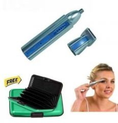 Maxel 2 In 1 Multipurpose Ear,nose And Hair Trimmer With Eyebrow Trimmer