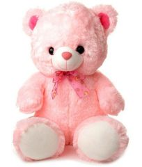 Grj India 12 Inches Teddy Bear - Pink
