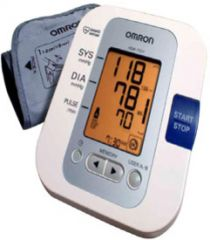 OMRON AUTOMATIC BLOOD PRESSURE MONITOR DELUXE HEM-7201
