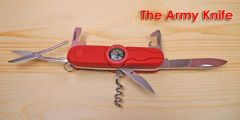 Multi Function 11 in 1 Pocket Army Knife with Compass