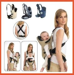Shop or Gift Deluxe Baby Sling Harness Carrier Online.