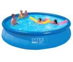 Inflatable Toys - 15 Feet Intex Easy Set Family Swimming Pool Inflatable