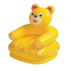 Inflatable Toys - Intex Happy Animal Air Chair Yellow Teddy