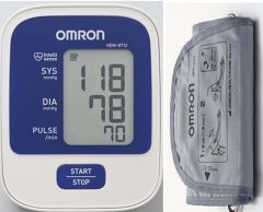 Health Care Appliances - Omron Hem8712 Blood Pressure Monitor HEM 8712