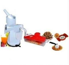 Home Utility Combo Juicer Apex Slicer Apple Cutter & Pizza Cutter