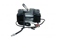 Autofurnish Af-6532 Heavy Duty Twin Cylinder Metal Air Compressor For Cars, Suvs And Small Trucks
