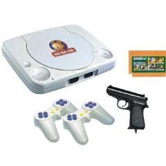 Indoor Games - TV Video Game 2 Joystick One Game Cassette & Gun