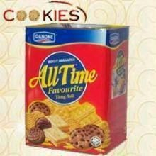 Assorted Tinned Cookies Box