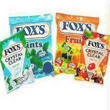 Foxs Crystal Clear Mints Candy - Set of 4