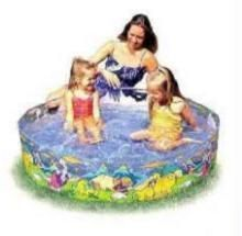 Inflatable Toys - 4 Feet Water Pool For Kids