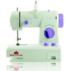 Bms Lifestyle Wonderpro Portable Electric Sewing Machine With Demo CD (white )