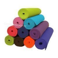 Fitness Accessories - Colorful Yoga Mat 4 MM Thick Size 24