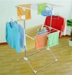 Multi Double Layer Clothes Rack Stand Drying Hanger