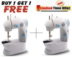 Buy 1 Get 1 Free! Mini Sewing Machine With Foot Pedal - B1g1sewm01