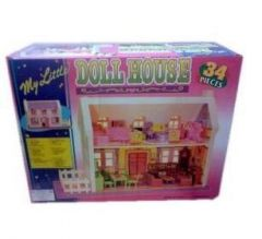 Doll House For Kids -34 Pieces