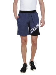 Fitz Mens Polyester Cotton Shorts (Product code - A16SO4006EBMLG)