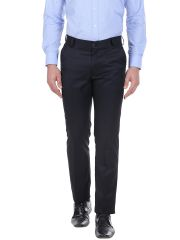 Solemio Mens Polyester Viscose Trouser (Product code - A16TR2011EBL)