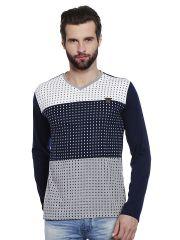 T Shirts (Men's) - Fitz Mens Polyester Cotton T-Shirt (Product code - A16TS7007ENV)