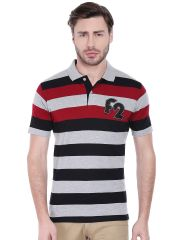 Fitz T Shirts (Men's) - Fitz Mens Polyester Cotton T-Shirt (Product code - A16TS7008EBL)