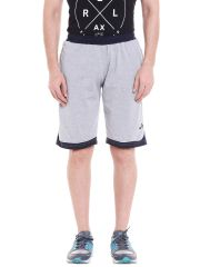 Fitz Mens Cotton Shorts(Code - A17BR7017GM)