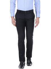 Solemio Mens Polyester Viscose Trouser (Product code - S16TR2020EBL)