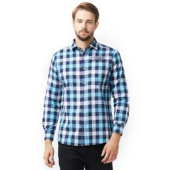 Solemio Multi Shirt For Mens (Code -S18SH1034EBU)