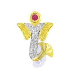 Jpearls Avighna Diamond Pendant- FOR MENS