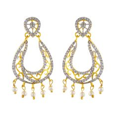 MARVELOUS CZ EARRINGS Code-JPAPL-17-049