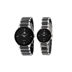 Sri Jagdamba Pearls Valentine Day Special Couple Watch ( Code-jpdec-17-140cp ) - Valentine Gifts For Him