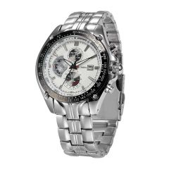 Sri Jagdamba Pearls Analogue White Dial Men's Watch ( Code-jpdec-17-170 ) - Valentine Gifts