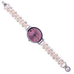 Watches for Women   Round Dial   Analog (Misc) - Sri Jagdamba Pearls Angel Chrono  Pearl Watch-JPNOV-16-001