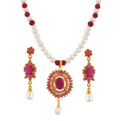 Jpearls Majestic Necklace Set - Valentine Gifts
