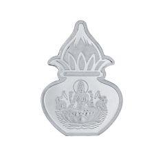 Sri Jagdamba pearls 10 grams 99.9%  Laxmi Kalash silver coin Code JPSEP-16-051-10