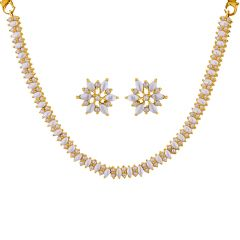 Pearl Necklaces - Sri Jagdamba Pearls roseate Pearl Set  Code JPSEP-16-063