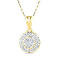 Jpearls Everlasting Diamond Pendant