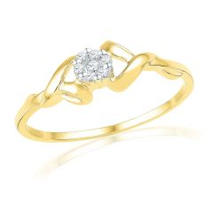 18kt Gold  Adorable  Diamond Finger Ring