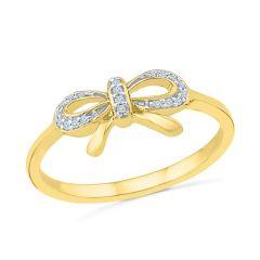 Sri Jagdamba Pearls Royal Gold Diamond Finger Ring Code RF022120