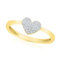 Jpearls Soozy Diamond Finger Ring