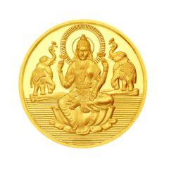 JPEARLS 24KT 8 GRAM LAXMI GOLD COIN