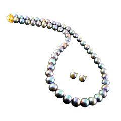 Pearl Jewellery Sets - JAGDAMBA ROYAL PEARL SET..