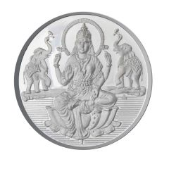 Jpearls 100 Grams Lakshmi Silver Coin 99.9 % Purity
