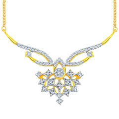 Maya Diamond Yellow Gold Diamond Tanmaniya TP062SI-JK18Y