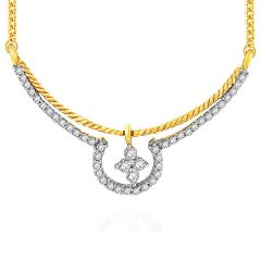 Gili Yellow Gold Diamond Tanmaniya YPM306SI-JK18Y