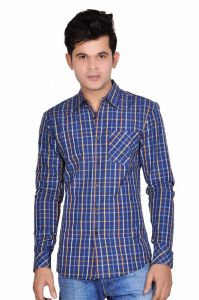 Moksh Checkered Casual Cotton Shirt For Mens - (code - Ace08102013-a5-ls)