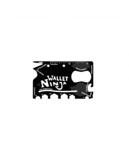 18 Tools In 1 Wallet Ninja Toolkit Credit Card Size